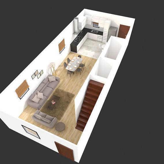 3D Floor Plan Rendering Vancouver, Canada
