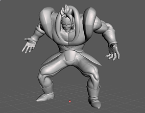 Android 16 Dragon Ball 3D Model