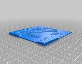 Italy Map 3D printable model