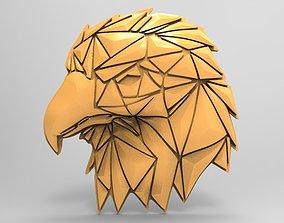 3D print model Geometric eagle