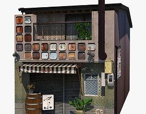 3D model Izakaya Building