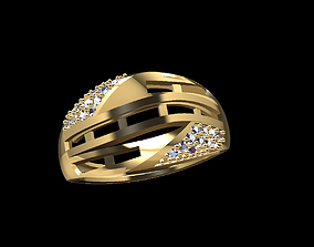 Gold Ring 22 3D printable model