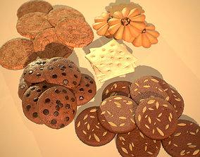 HIE Game Ready Cookie D180601 3D asset