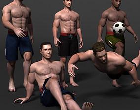 3D model MAN 02b