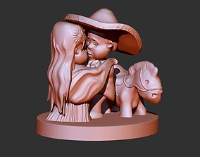 Mexican Couple 3D printable model