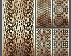 3D Decorative panel set 52