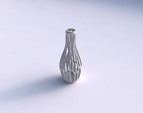 Vase wide with branches long neck 3D printable model
