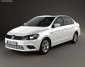 3D model Volkswagen Jetta 2013