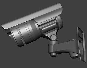 3D model security camera cctv