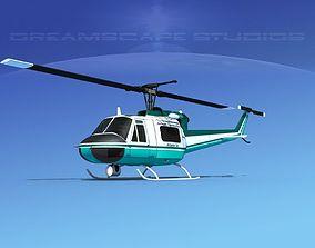 3D Bell 204 Jensen Construction