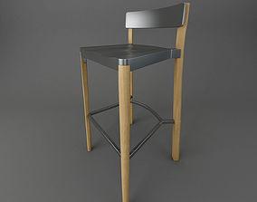 3D model emeco lancaster-barstool