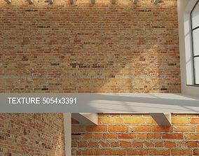 Brick wall Old brick 11 3D asset