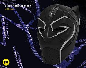 3D print model Black Panther mask