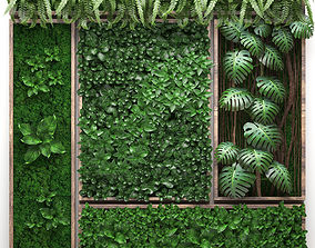Vertical gardening collection 2 3D