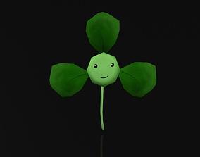 Creative Fan Plant 3D model