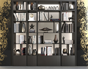 Wardrobe with decor 3D