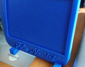 PORTA RETRATO CON SOPORTES 3D printable model