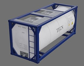 3D asset Tank Container 1A