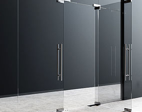 3D Fittings For Glass Doors