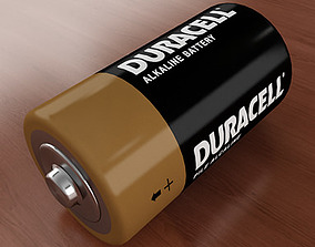 volt C Battery 3D