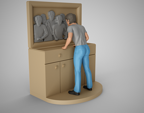 Faces in the Mirror 3D printable model