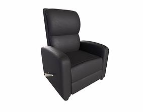 Leather Recliner Chair 3D asset