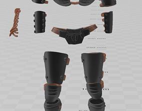 Darth Talon Armor Kit 3D print model