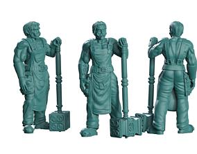 Blacksmith 3D print model