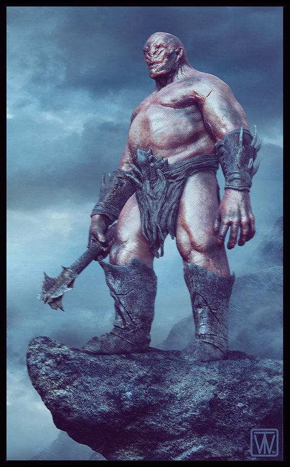 Snag-Zah Hero Orc