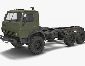 Kamaz Truck 3D asset game-ready