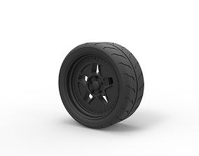 Diecast Wheel from Hoonicorn RTR 3D printable model