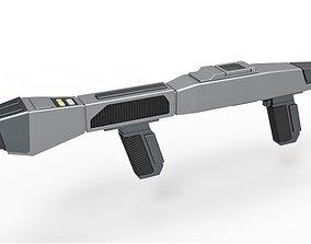 3D print model Starfleet Type 3 Phaser Rifle from Star 3