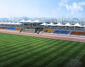 Football Field 001 3D