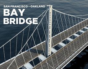 Oakland Bay Bridge 3D model
