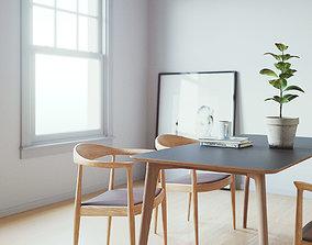cinema4d Simple room 3D