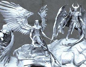 Fallen Angel collection 1 3D model