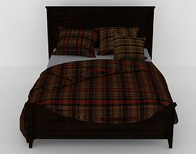 MODERN BED COLLECTION - 08 3D model