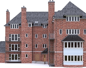 English Brick House 01 3D model