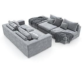 3D model 240-Sofa Club Element VAR 4