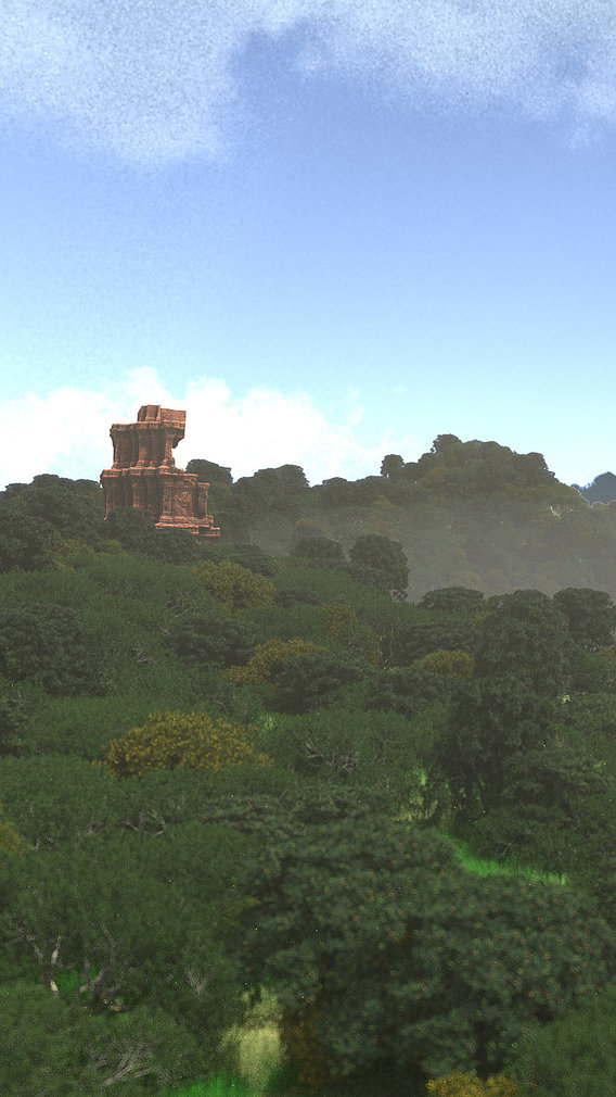 Mayan city