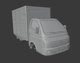 Hyundai Hr box 3D model