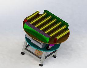 3D model Rotary conveyor