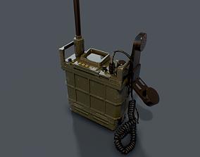 3D asset Military Combat-net Radio - LV 241