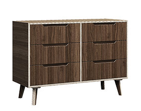 HEY PLY Chest of Drawers 2 3D