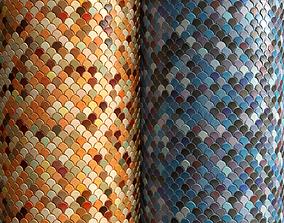 3D model Materials 18- Fish scale tiles PBR