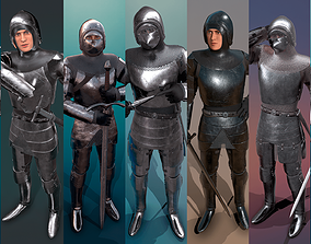 TAB Medieval Knight - 1 Remastered 3D asset