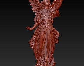 sculptures 3D printable model Angel