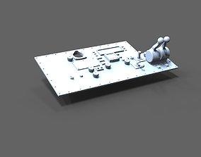 3D printable model outside control position sea rescue