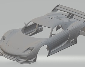 Porsche 918 RSR Printable Body Car rc