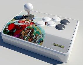 Arcade Fight Stick 3D model